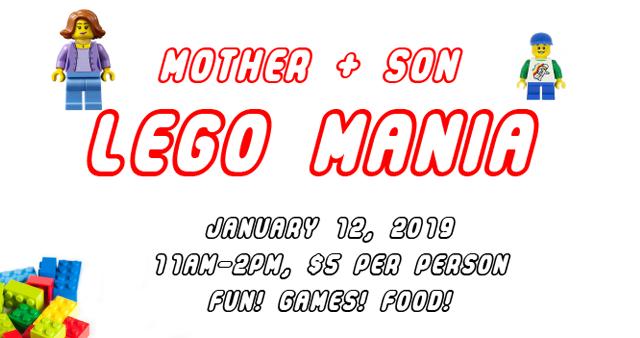 Mother + Son LEGO Mania
