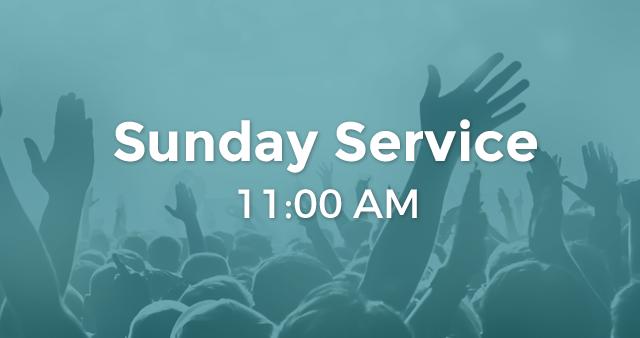 Sunday - Second Service